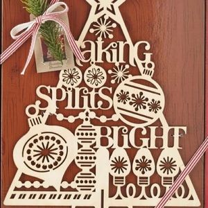 Hallmark LaserCut Wooden Christmas 🎄 Decoration
